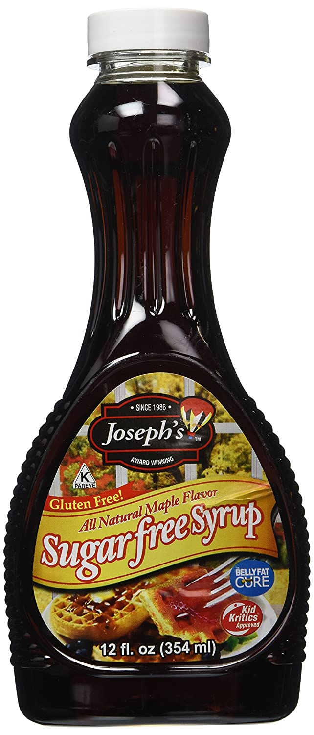 Com Joseph S Sugar Free Maple Syrup 12oz Grocery Gourmet Food