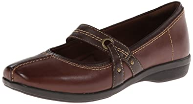 Womens Shoes Clarks Haydn Pond Brown Leather