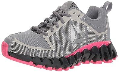 Reebok Women s ZigWild Tr 5.0 Running Shoe Shark Coal Twisted Pink s 5 4955bfb7e