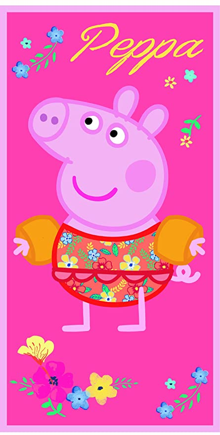 Toalla Peppa Pig manguitos