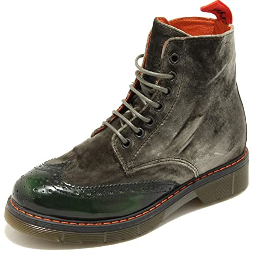 Scarpa Snobs Donna Scarponcino 3383g Shoes Woman Verde Boots Stivale L5A4jR3