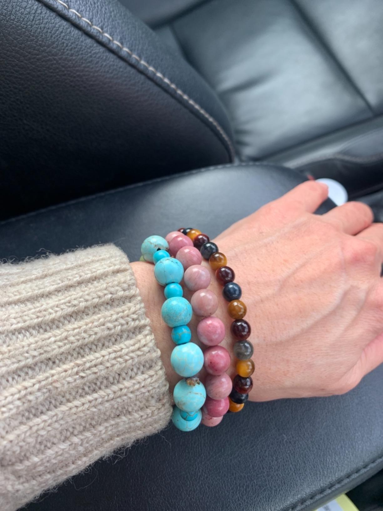 The Love Source Bracelet - Rhodochrosite Bracelet photo review