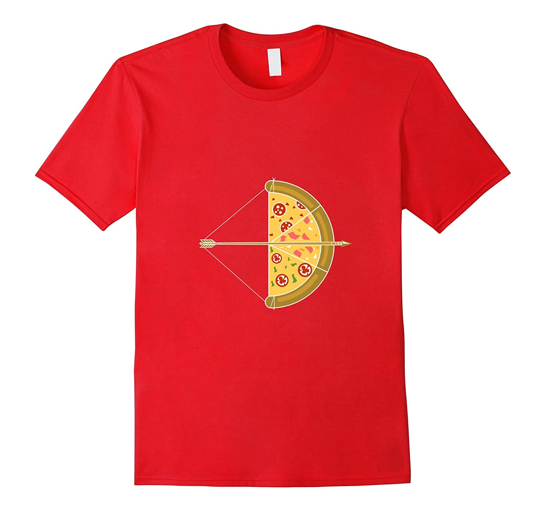 Cheesy Bow And Arrow Pizza Halloween Costume T-Shirt