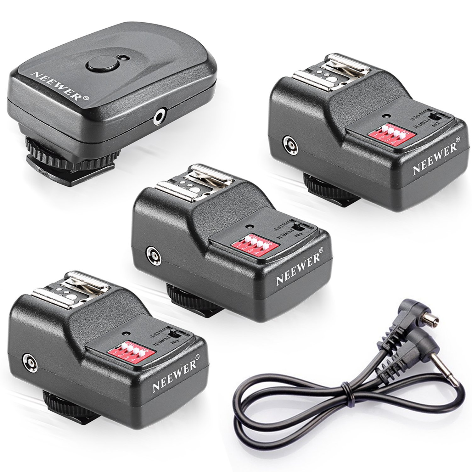 Neewer 16 Channel Wireless Flash para Canon, Nikon, Pentax