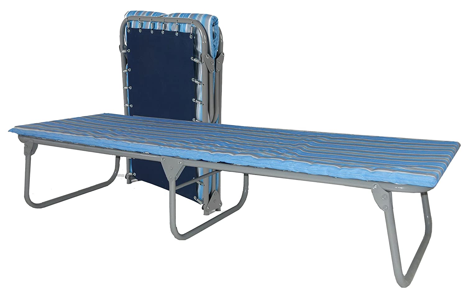 Amazon.com: Blantex XB-4 Heavy Duty Steel Folding Cot with Foam Mat ...