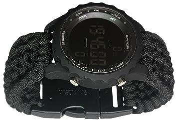 Hombres deportes relojes impermeable contador de pasos Fun Digital reloj Digital LED de agua a prueba