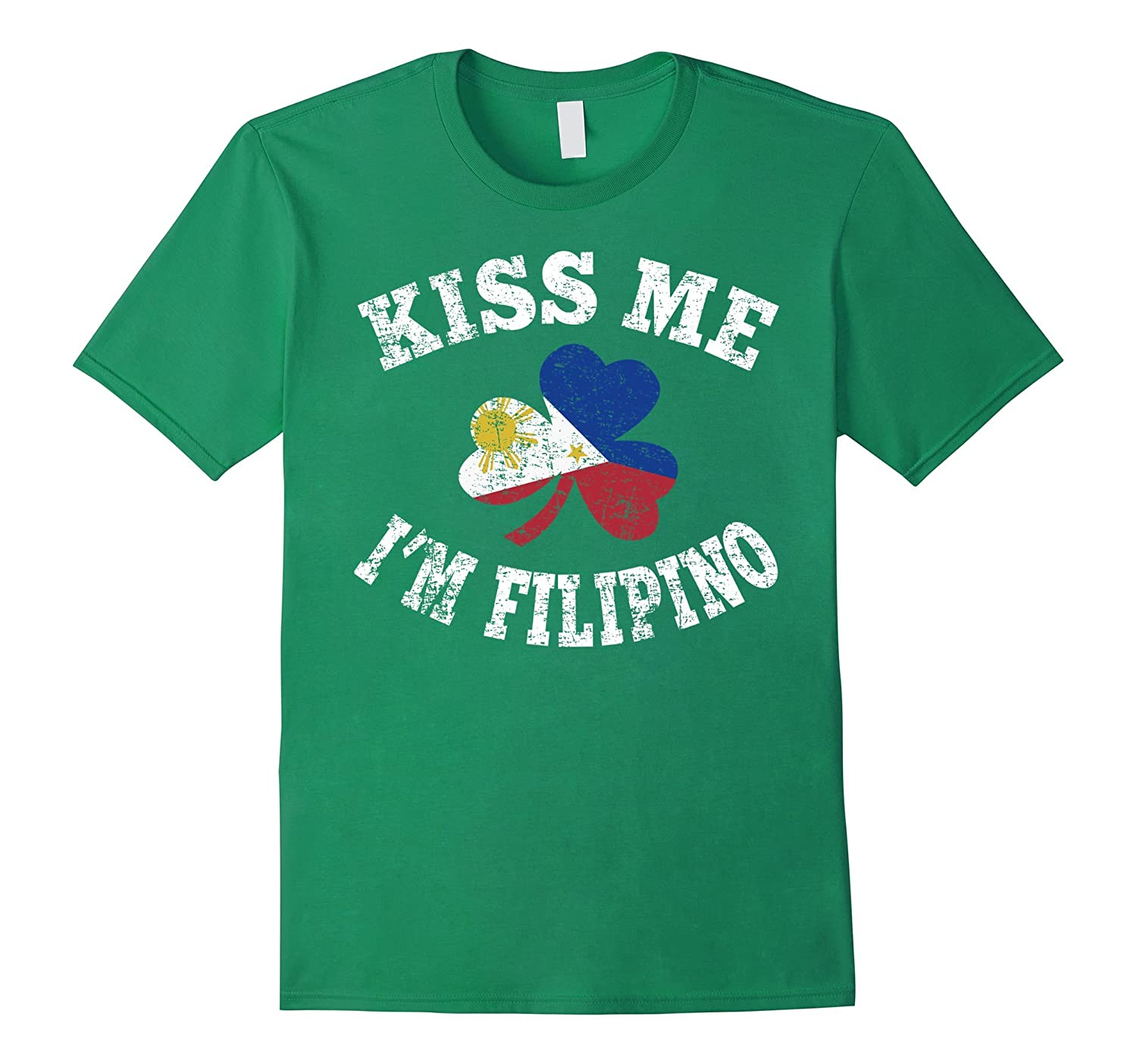 Kiss Me Im Filipino Shirt-TD