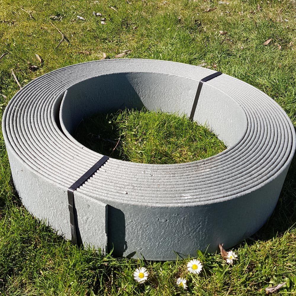 Beeteinfassung Rasenkante Rasenband Beetumrandung Mähkante viele Größen Oase