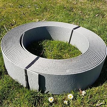 rakaflex stabile rasenkante beetumrandung beeteinfassung mahkante profilkante ca 19 cm hoch x 25 m