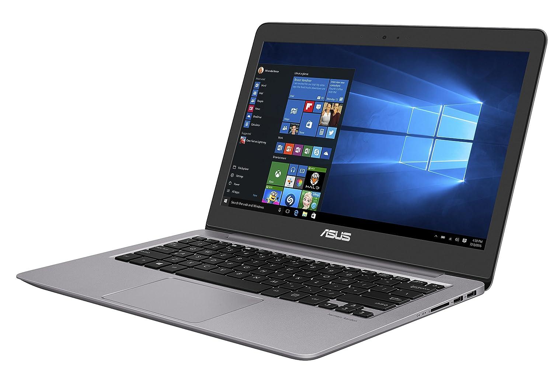 ASUS UX310UA-FC487T - Ordenador portátil de 13,3 pulgadas, i3 - 7100U, RAM de 4 GB, HDD de 500 GB, Intel Graphics 620, teclado italiano.