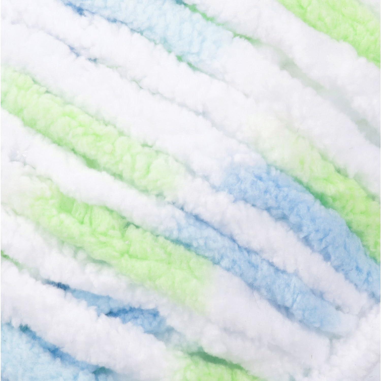 10.5 oz Single Ball Machine Wash /& Dry Bernat 16110404325 Baby Blanket Yarn - Beach Babe Super Bulky Gauge 6