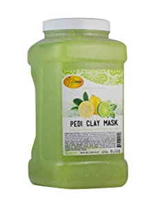 Spa Redi Pedi Clay Mask (Lemon & Lime, 1 Gallon)