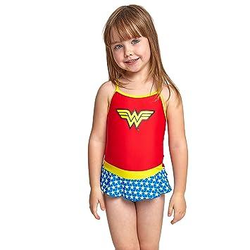 34bdda33be9 Zoggs Girls Wonder Woman Swimsuit