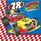Disney 20 Servilletas * Mickey Roadster fiestas de cumpleaños infantil o temática//Party Servilletas