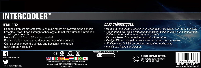 Nyko Playstation 4 - Kühlsystem: Amazon.es: Videojuegos