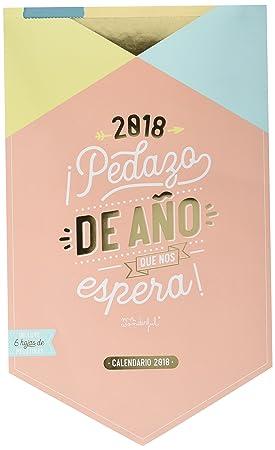 Mr Wonderful Woa08664es Wall Calendar With Design 2018