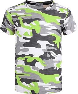 646fe3f066d550 LotMart Boys Soldat Tarnfarben T-Shirt Britische Armee Militärisch ...