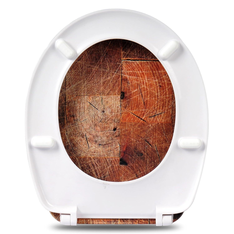 modern Design WOLTU #22 Premium WC Sitz aus Duroplast mit Absenkautomatik Softclose Schaniere Antibakteriell