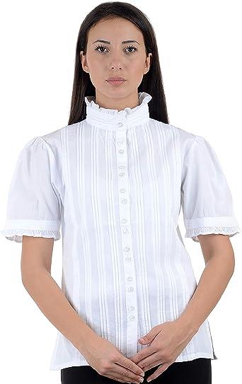 Vintage Victorian Edwardian algodón blusa de precisa patrones para ...