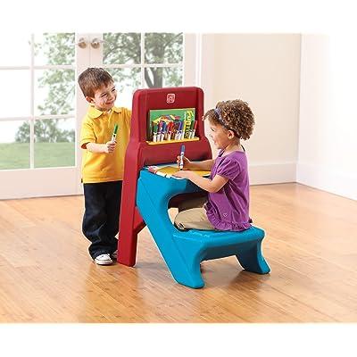 Step2 Art Easel Kids Desk: Toys & Games