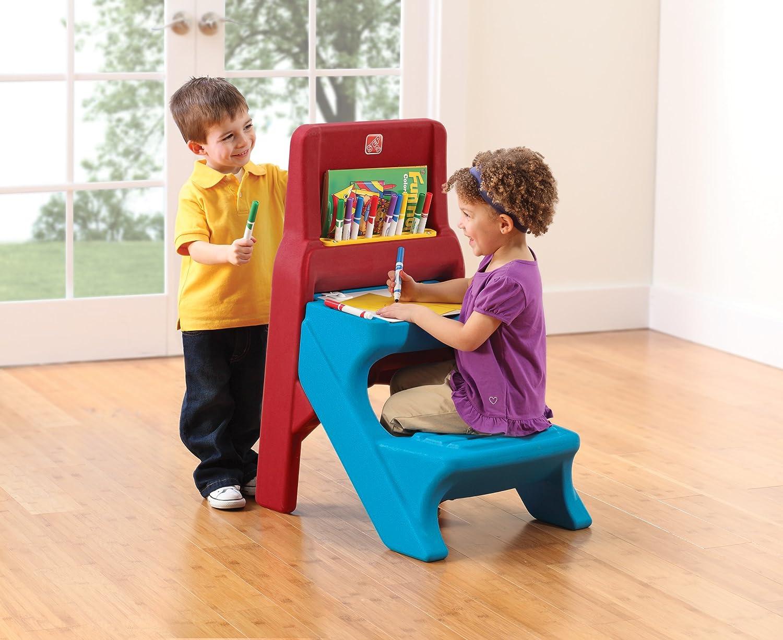 toddler art desk easel
