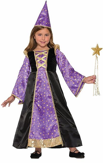 Forum Novelties Kids Winsome Wizard Costume, Purple, Small