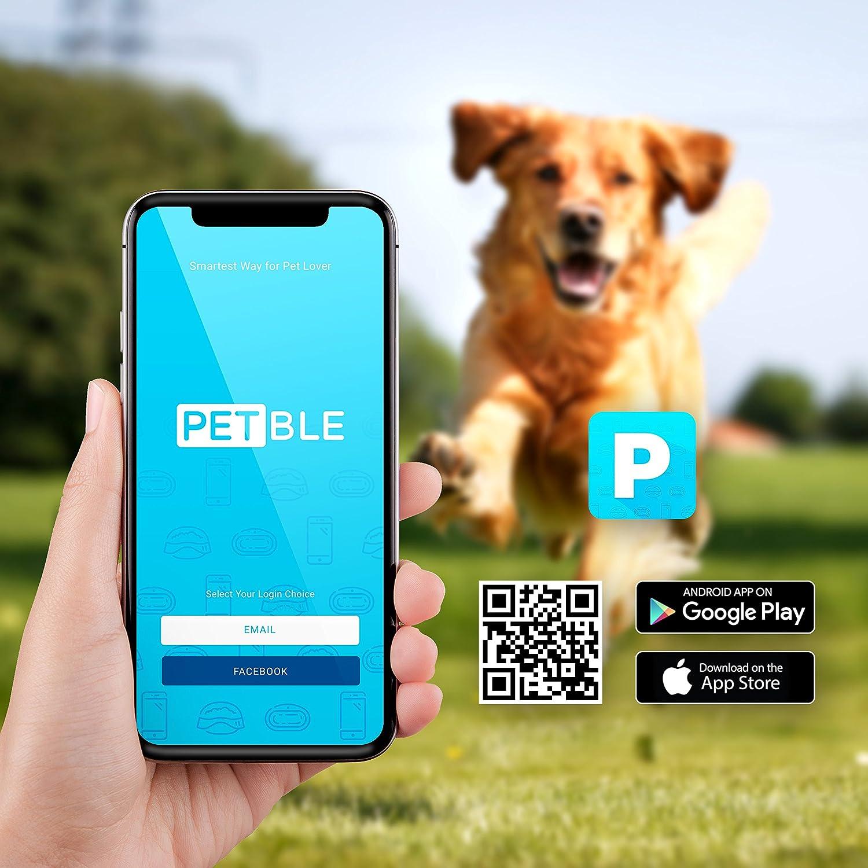 petble dog cat pet smart tag tracker portable bluetooth wireless