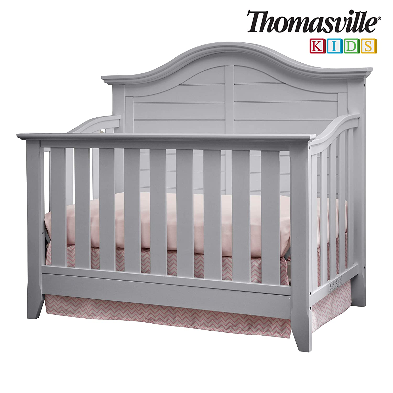 Three Position Adjustable Height Mattress Mattress Not Included Thomasville Kids Southern Dunes Lifestyle 4-in-1 Convertible Crib Espresso Easily Converts to Toddler Bed Day Bed or Full Bed