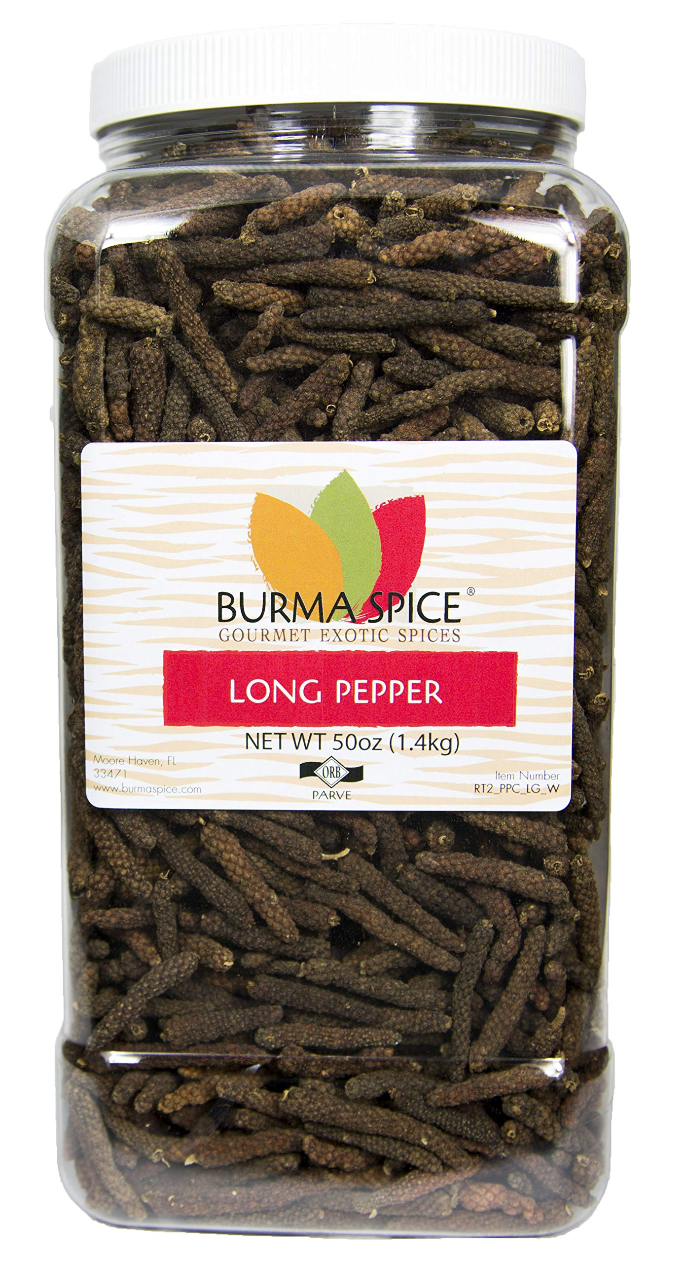 Long Pepper Whole | Piper longum | 100% Pure | Kosher Certified (50 oz.)