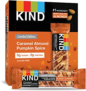 product image for KIND Bar, Caramel Almond Pumpkin Spice, Gluten Free, 1.4oz, 12 Count