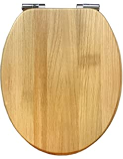 Roper Rhodes Solid Wood Soft Close Toilet Seat Walnut by Roper