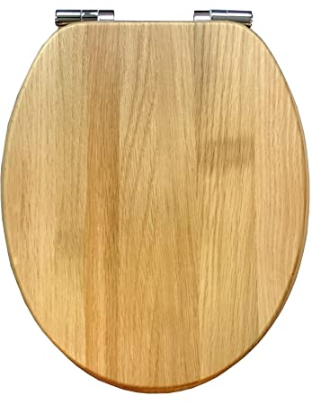 solid wood soft close toilet seat. Roper Rhodes Solid Oak Wood Soft Closing Hinged Toilet Seat With Signature  Plaque Amazon Co Uk Kitchen Home