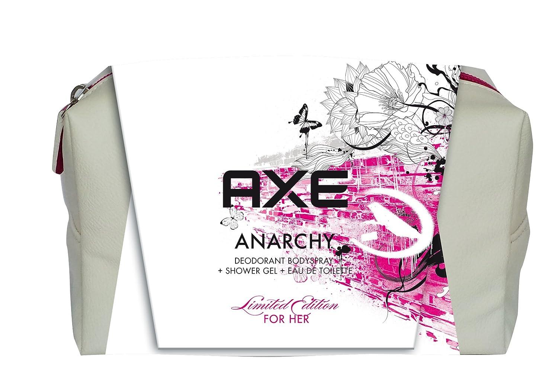 Axe Trousse Anarchy For Her Eau de Toilette 50 ml + Déodorant 150 ml + Gel Douche 250 ml - Produit arrêté