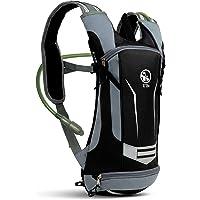 U`Be Hydration Camelback Water Pack Backpack - Kids Women Men Hiking Biking Running Bag with 2L Bladder