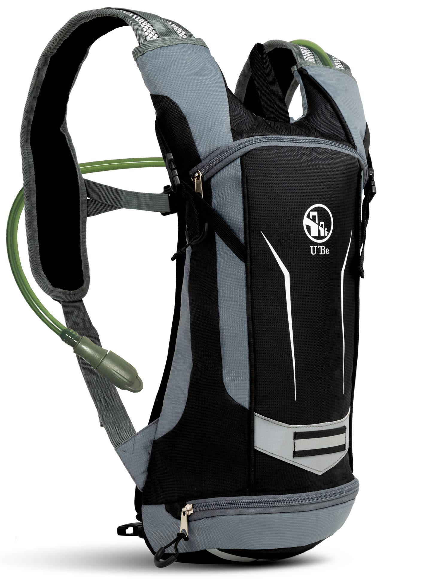 77b2242df86 U`Be Hydration Pack Water Backpack - Kids Women Men Camelback - Hiking  Biking Running Bag with 2L Bladder