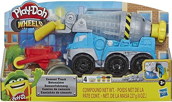 Oferta amazon: Play-Doh Camión De Cemento (Hasbro E68915L0)