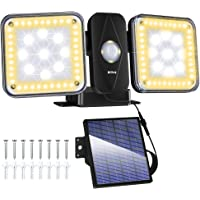 Luz de seguridad solar Luces de sensor de movimiento LED para exteriores, luces de detección de movimiento Luz de…