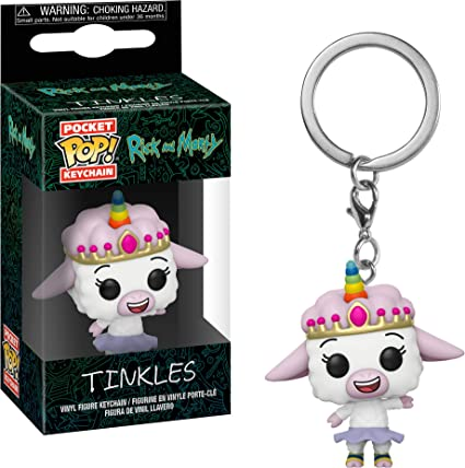Funko Pop! Rick & Morty - Keychain Tinkles: Amazon.es ...