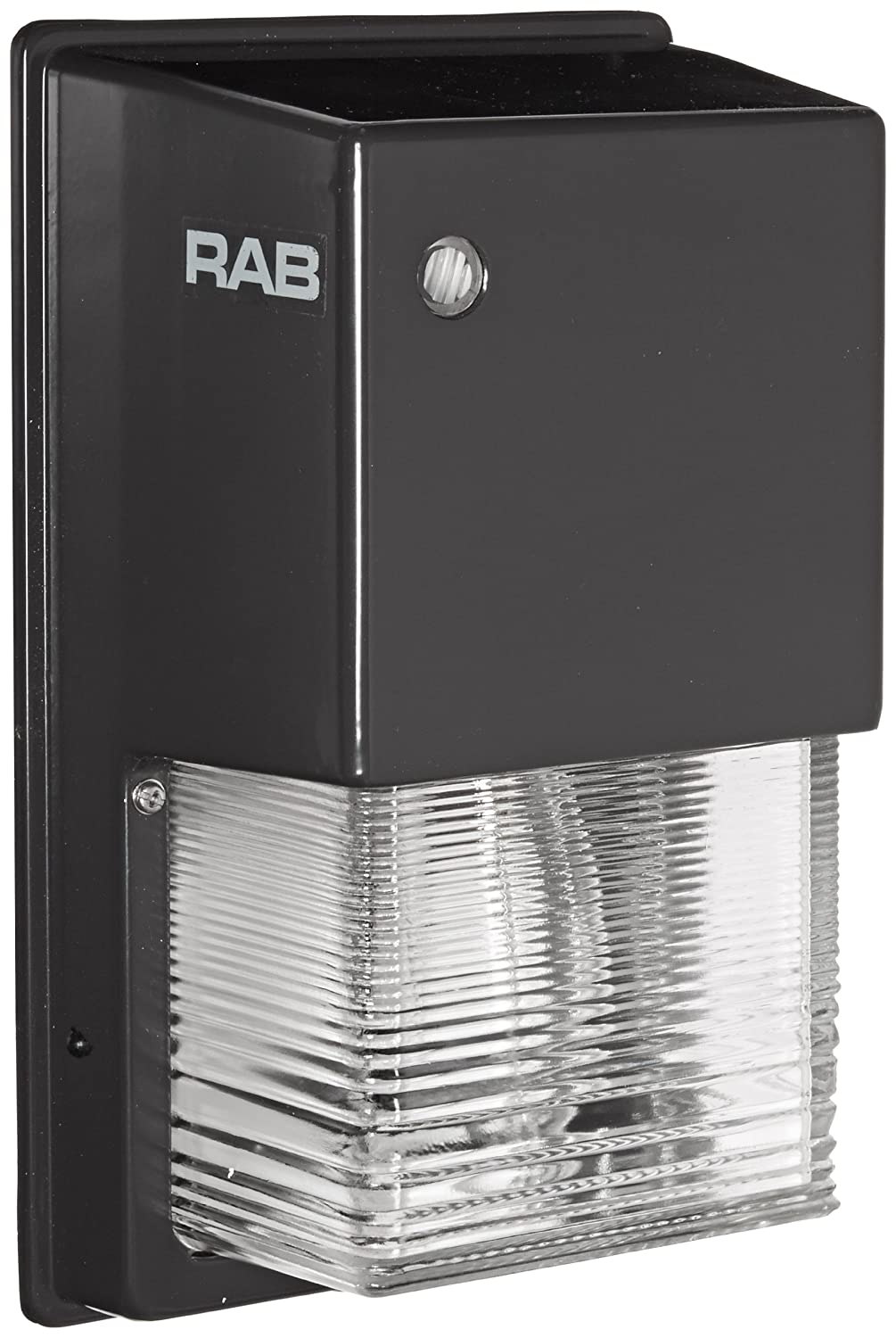 RAB Lighting WPTGSN70 Tallpack High Pressure Sodium Lamp with Prismatic Glass Refractor, ED17 Type, 70W Power, 6300 Lumens, 120V, Bronze Color by RAB Lighting  B0027OY1AW