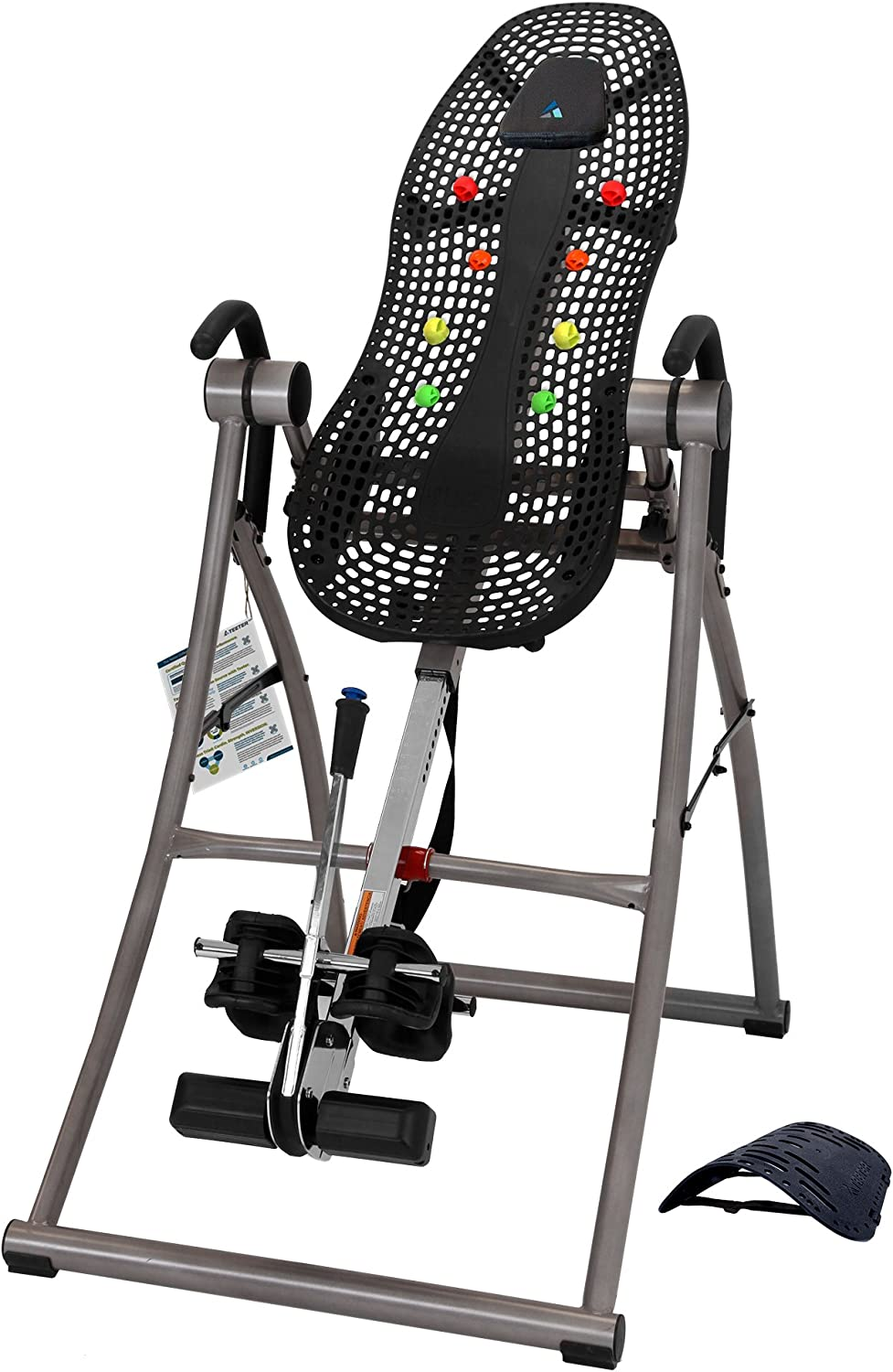 Teeter Contour L5 Inversion Table, Deluxe Easy-to-Reach Ankle Lock, Back Pain Relief, FDA-Registered