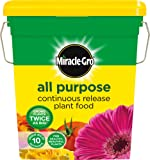 Miracle-Gro All Purpose Continuous Release Plant Food Tub, 2 kg