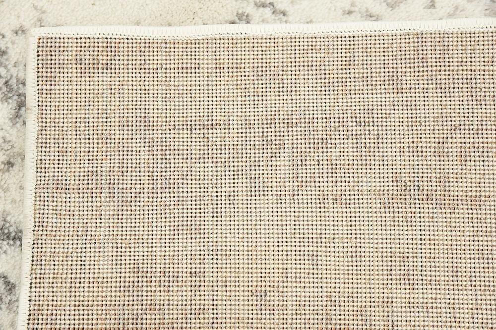Unique Loom Sofia Collection Gray 8 x 10 Area Rug (8' x 10')