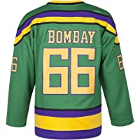 MOLPE Bombay 66 Ducks Jersey S-XXXL Green, 90S Hip Hop Clothing for Party, Stitched Letters and Numbers