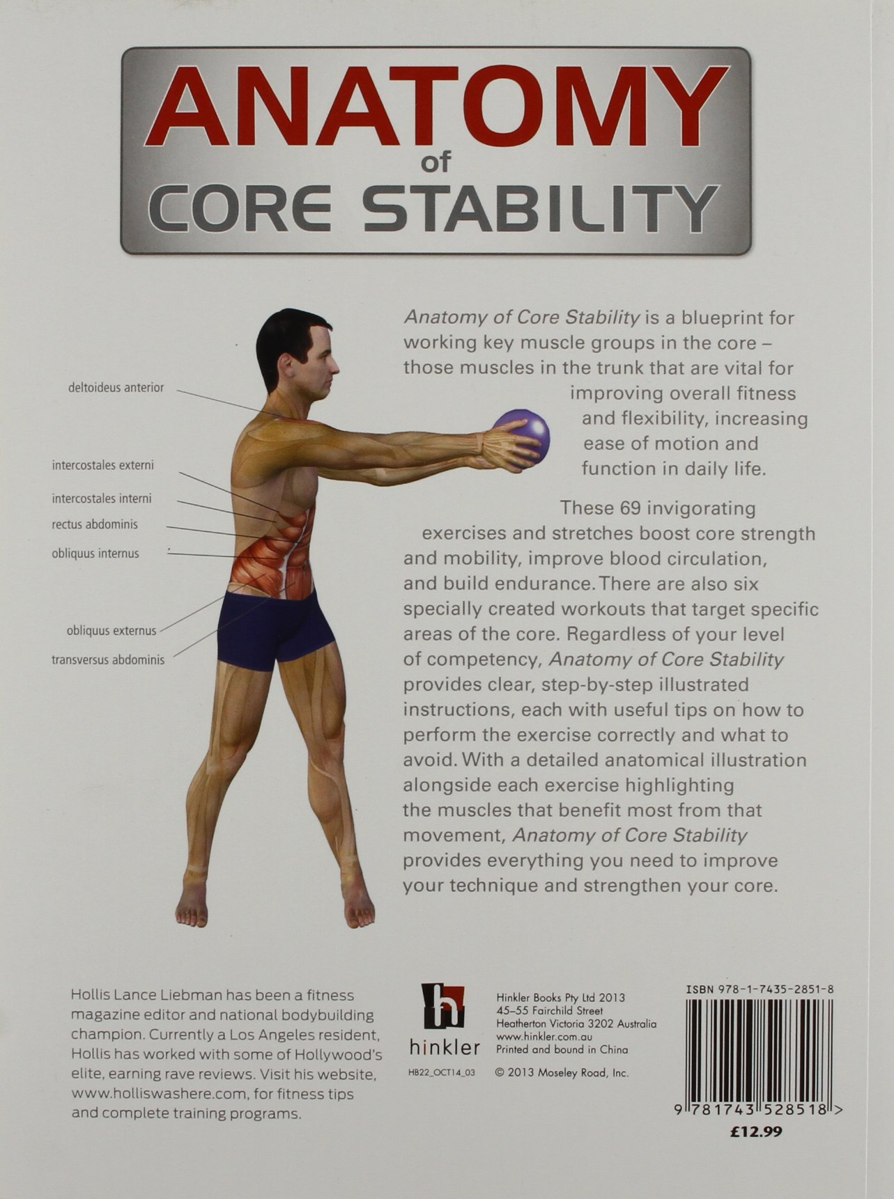 Anatomy of Core Stability (The Anatomy Series): Amazon.co.uk: Hollis ...