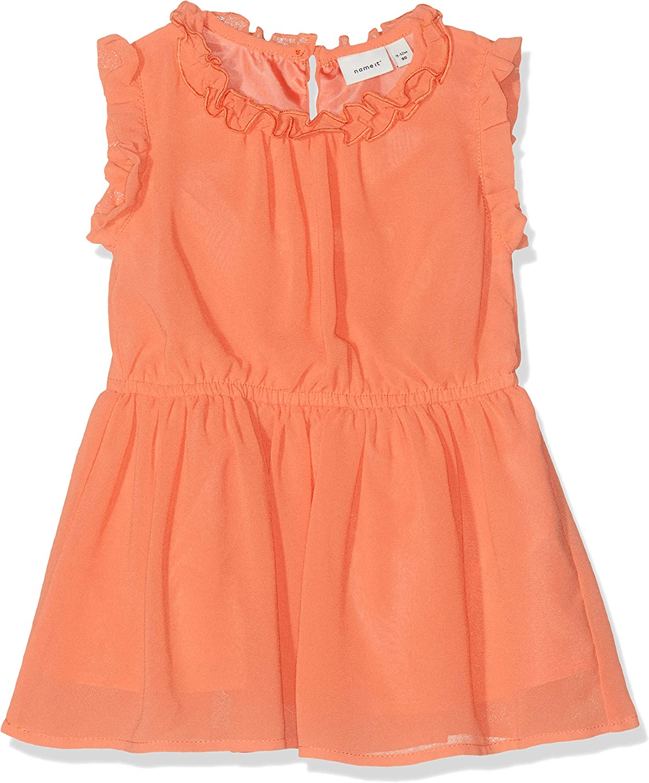 NAME IT Baby-M/ädchen Nmfvilusi Capsl Dress H Kleid