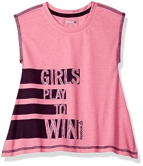 e7423145e7256 Reebok Girls' Girly Tee Shirt