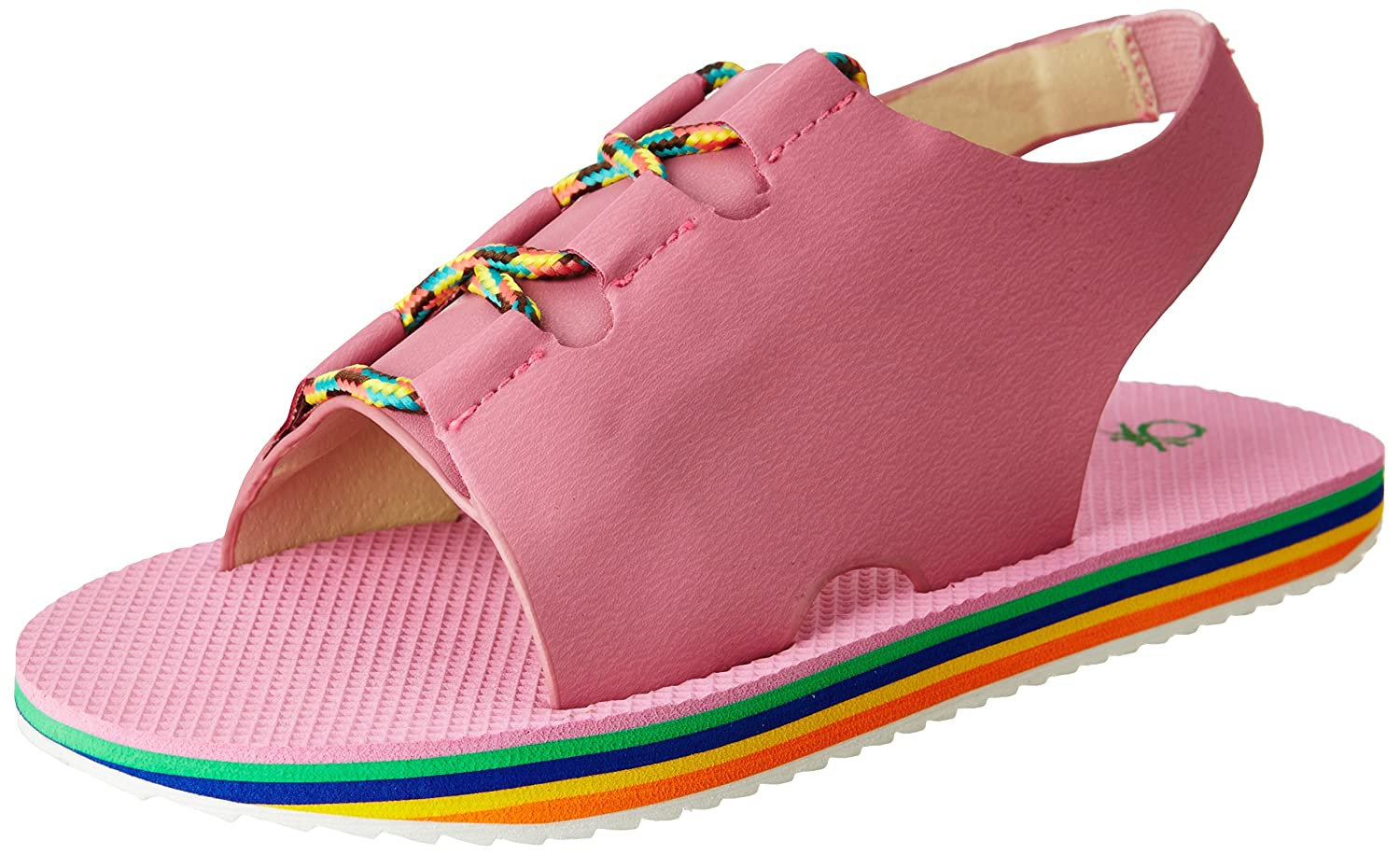 United Colors of Benetton Girl's Fashion Sandals