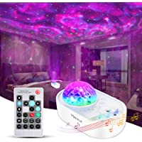 Star Projector, Merece 3 in 1 Galaxy Night Light Projector with Remote Control, Bluetooth Music Speaker & 5 White Noises…