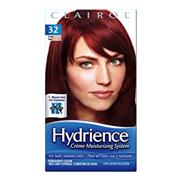 Amazoncom Clairol Hydrience Color 032 Hibiscus Pack Of 3