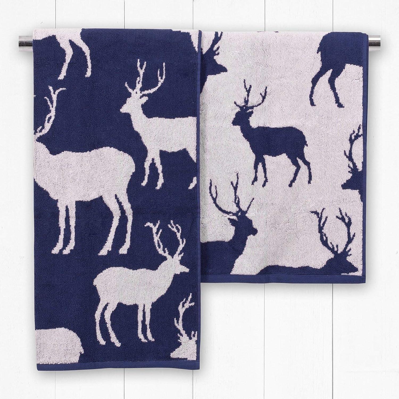 Catherine Lansfield Animal Jacquard Bath Sheet Multi